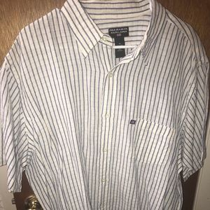 NWT men's XL polo jeans co shirt